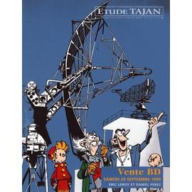 Catalogue De Vente B D Du 25/9/1999 . Franquin, Morris, Greg, Hubinon, Jacobs, Uderzo, Vandersteen, Tintin... N� 0