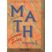 Math, Terminale S - Enseignement De Sp�cialit� de Pierre-Henri Terracher
