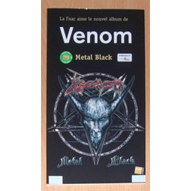 Venom : Metal Black - PLV