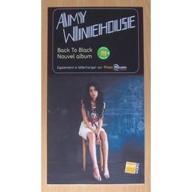 Amy Winehouse : Back to Black - Rare PLV