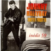 Johnny Hallyday - Tutti Frutti - Edition Sp�ciale - Cd 8 Cm - 1 Titre - Offert Par Vsd - Version 1959 - Sortie 1993 - Phonogram 1681