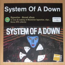 System Of A Down : Hypnotyze - PLV 30X30 - Très Rare