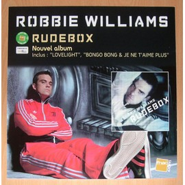 Robbie Williams : Rudebox - Rare PLV