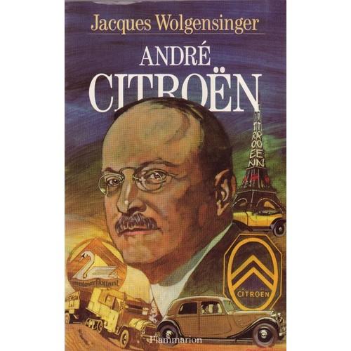 les livres sur la vie d'André Citroen 833349751_L