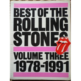 best of the rolling stones volume three 1978-1991