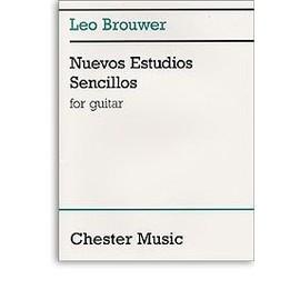 Brouwer : nuevos estudios sencillos - guitare