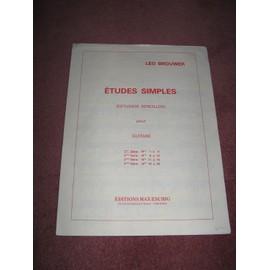 Etudes simples (Estudios sncillos)