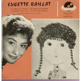 la mome aux boutons (Lacome / Louki) - les dames de la poste (Siniavine / Blanche) - Les amants d'un jour (Monnot - delécluse - senlis) - t'en fais des histoires (Giraud / Gall)
