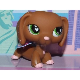 Littlest Pet Shop Petshop N� 556 Chien Teckel St Valentin Hasbro