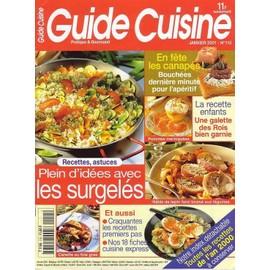 Guide Cuisine N� 115 : Plein D'id�es Avec Les Surgel�s