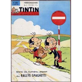 Tintin L'hebdomadaire N� 858 : Sens Interdit