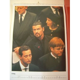 CALENDRIER 2000 GEORGE MICHAEL