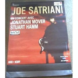 affiche de tournée JOE SATRIANI