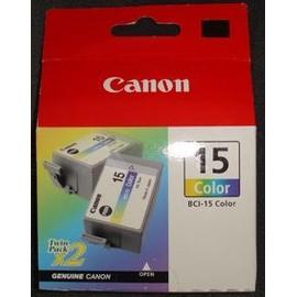 Bci-15 Color Cartouche Compatible Pour Canon Bci 15 Couleur (Kit 2 Pi�ces)