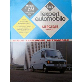 Etude Technique Automobile - R T A N� 244 Juillet/Aout 1987 - Mercedes 207 - 307 D
