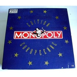 Monopoly Edition Europeenne - �cu