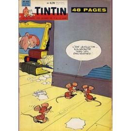 Tintin N� 610 : C'est Quelqu'un ... Il A Grignot� Tous Les Philosophes !