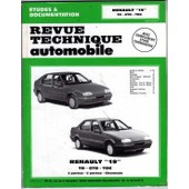 Renault 19 Td-Gtd-Tde - Avec Compl�ment �tude Carrosserie de