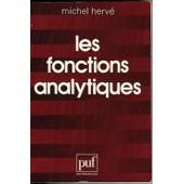 Les Fonctions Analytiques de Michel Herv�