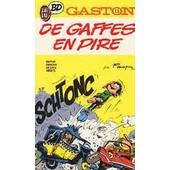 Gaston N�13 - De Gaffes En Pire de Andr� Franquin