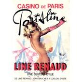 Parisline Renaud, Une Super-Revue De Line Renaud, Jean Beauchet Et Loulou Gast�, Casino De Paris de Collectif