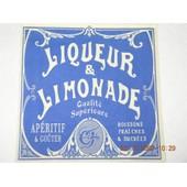 Lot De Serviettes Liqueur Et Limonade