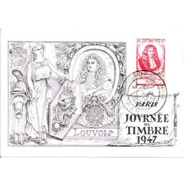 1947.JOURNEE du TIMBRE.Yvert n: 779.Louvois.