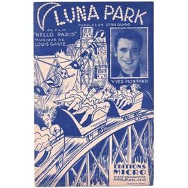 """luna park (chanson du film """"hello paris"""" - Jean guigo, louis gasté) / yves montand"""