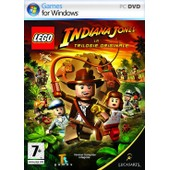 Lego Indiana Jones La Trilogie Originale - Ensemble Complet - Pc - Dvd - Win - Fran�ais