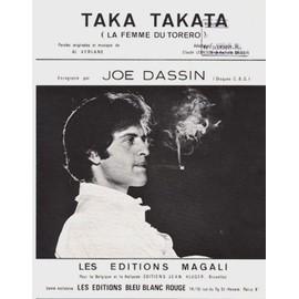 "taka takata ""la femme du torero"" (al verlane, claude lemesle, richelle dassin) / joe dassin, paco paco"