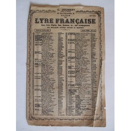 la lyre francaise n°106 les dragons de villart