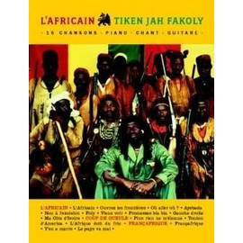 Tiken jah fakoly : l' africain + best of (chant + piano + accords)