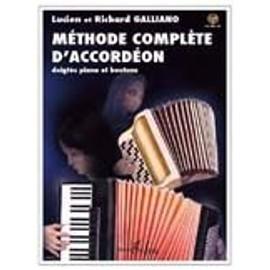 Galliano : méthode complète d'accordéon (+ 1 cd)