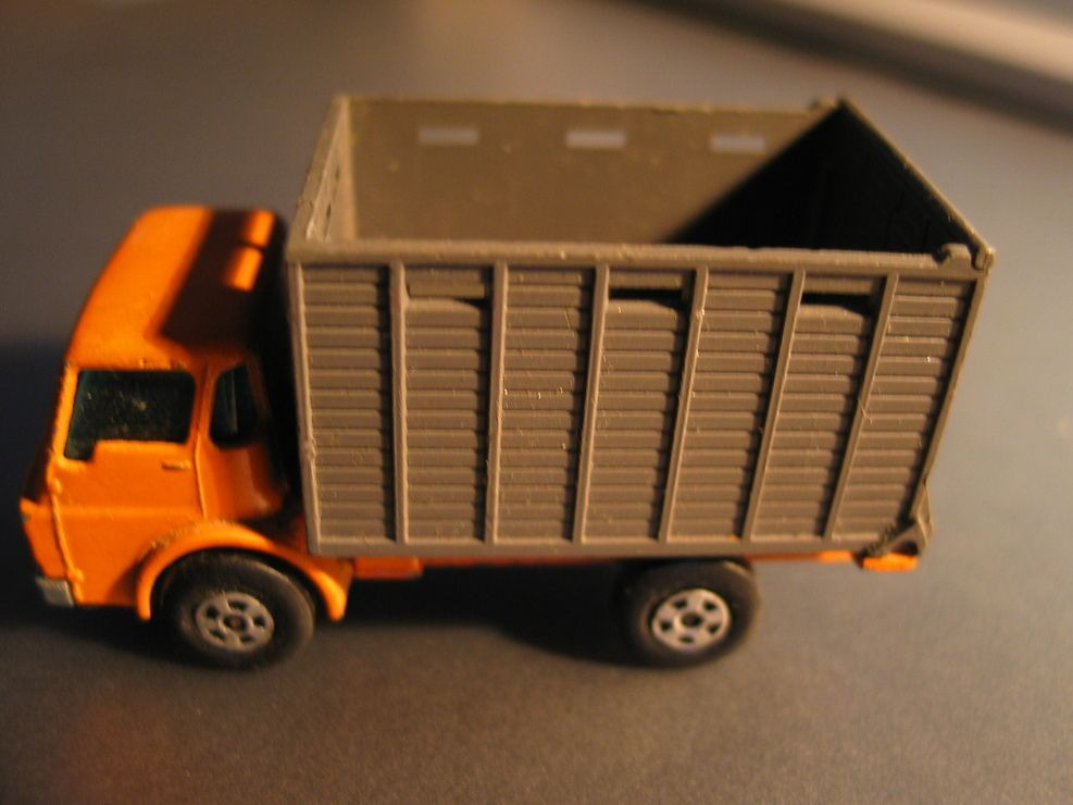 Voiture Miniature Matchbox Superfast Séries Cattle Truck N°37 Pat App