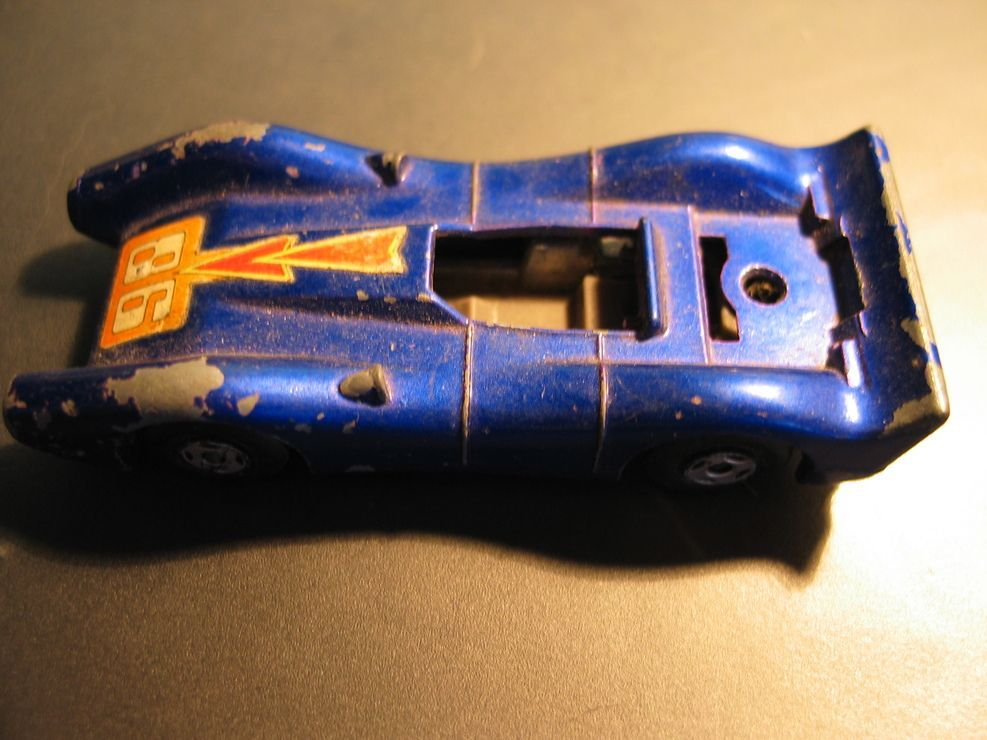 Voiture Miniature Matchbox Superfast Blue Shark N° 61