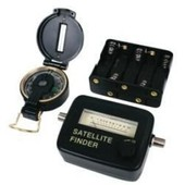 Satfinder - Pointeur Satellite + Boussole + Cable