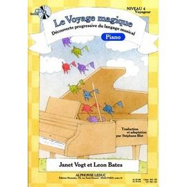 vogt : le voyage magique piano niveau 4 voyageur (+ 1 cd)
