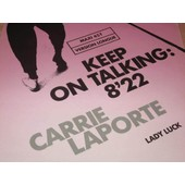 Keep On Talking (Version Longue 8'22) 1983 France - Carrie Laporte