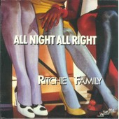 All Night, All Right 1983 France (Tirage Limite) - The Ritchie Family