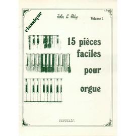 15 pièces faciles pour orgue      Volume 2