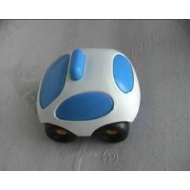 Mini Bolide Ambulance Blanc Et Bleu