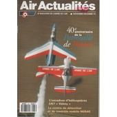 Air Actualit�s N� 467 : 40� Anniversaire De La Patrouille De France