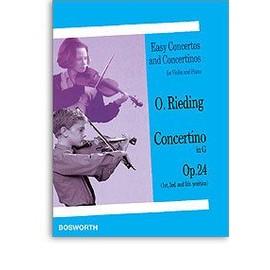 Rieding : concerto op 24 - violon - Bosworth
