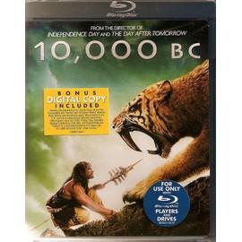 10,000 B C Blu Ray Warner Régions A, B C + Ps3 Import Usa