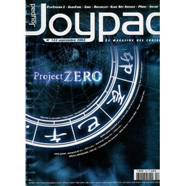 Joypad N� 122 : Project Zero