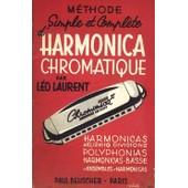 M�thode Simple Et Compl�te D'harmonica Chromatique de Laurent L�o