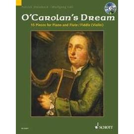 O'Carolan : Carolan's dream (+ 1 cd) - flute ou violon - Schott