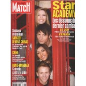 Paris Match / 04-12-2003 N� 2846 : Elodie Fr�g� / Sofia Essaidi / Michal / Patxi (8p) - Moby (3p) - Jane Birkin (1p) - U2 / Bono (6p) - Lucy Liu (4p) - Korn (1p)