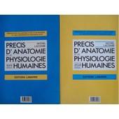 Precis D'anatomie Et De Physiologie Humaines En Deux Tomes de LACOMBE, M
