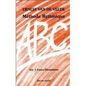 M�thode Rythmique - Volume 1, Cours �l�mentaire (Rouge)